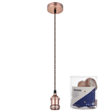 Load image into Gallery viewer, Plain Pendant 1 bulb fitting