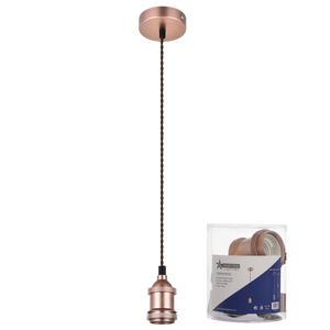 Plain Pendant 1 bulb fitting