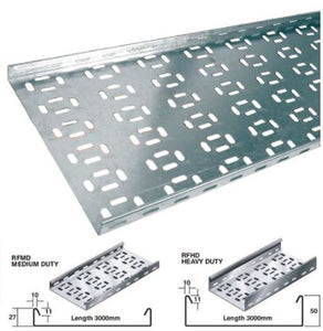 Return Flange Cable tray 3M