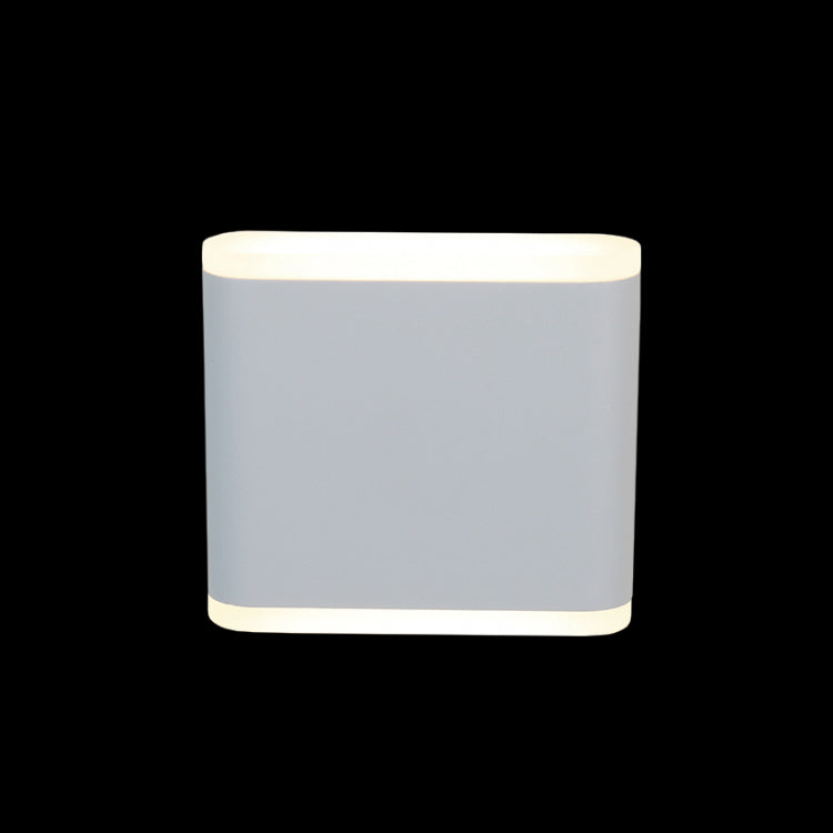 White Small Slim Wall Light - 230v 6W LED COB - JB-LED-237S/WH