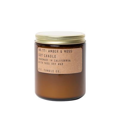 No. 11: Amber & Moss Candle 7.2 oz