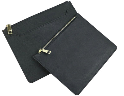 One Black Minimal Clutch