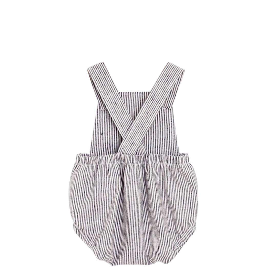Unisex Striped Romper