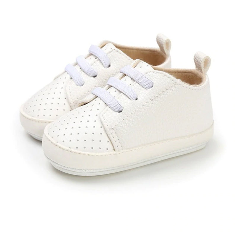 Baby White Sneakers