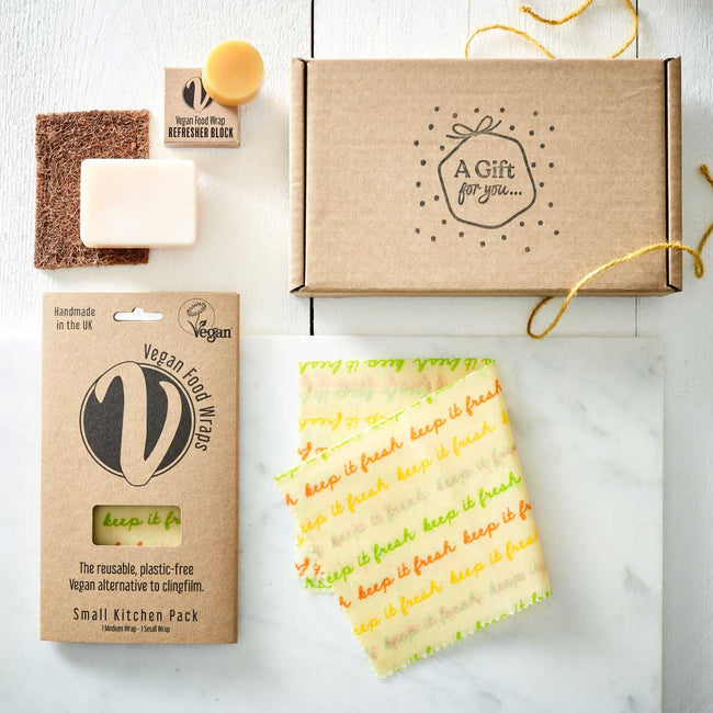 Vegan Wax Wrap Eco Starter Gift Bundle