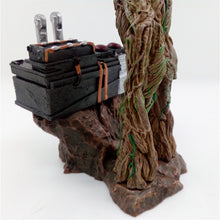 Handcrafted Groot pushing Death Button