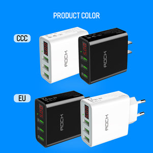 LED Display USB Charger 3