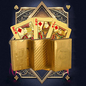 Luxury Golden Playing Cards