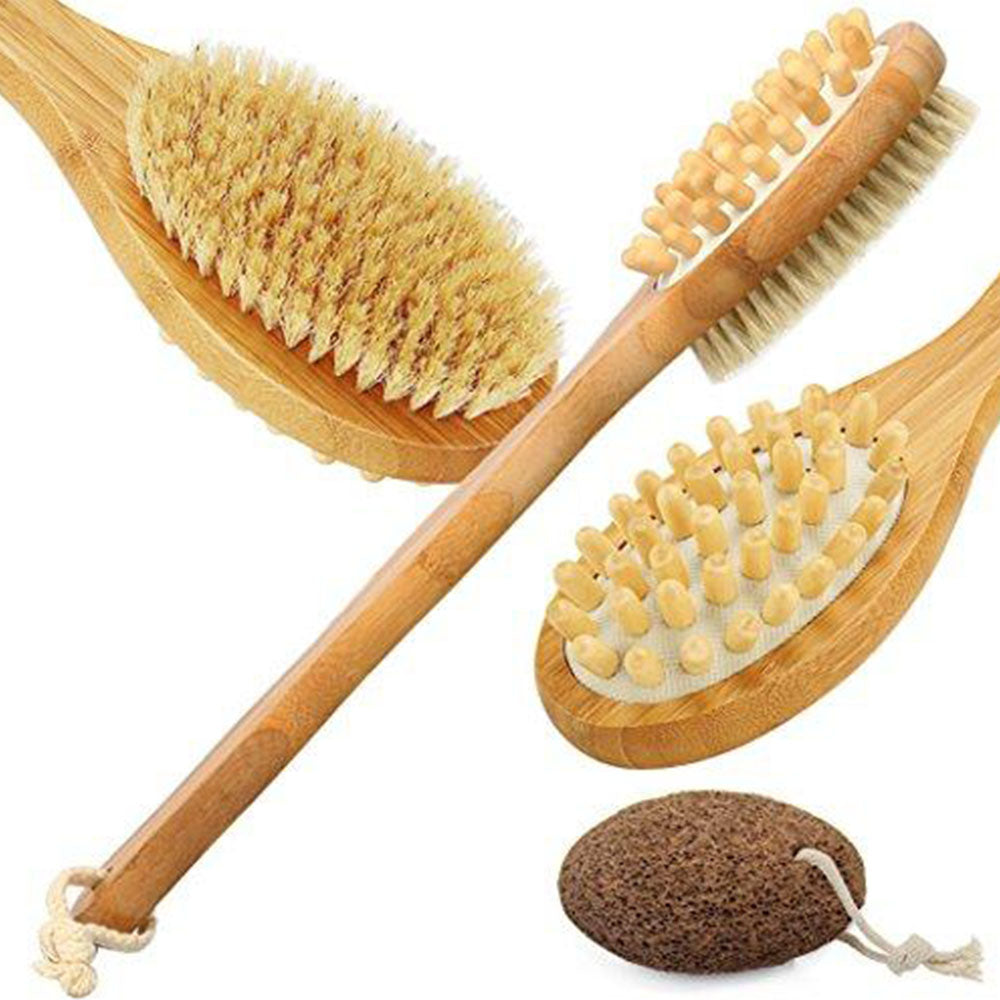 Dry Skin Bamboo Brush & Massage
