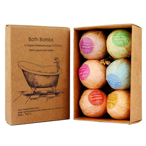 Handmade Organic Essential Oil Bath Bombs