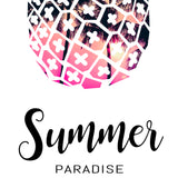 "Poster ""Summer Paradise"""