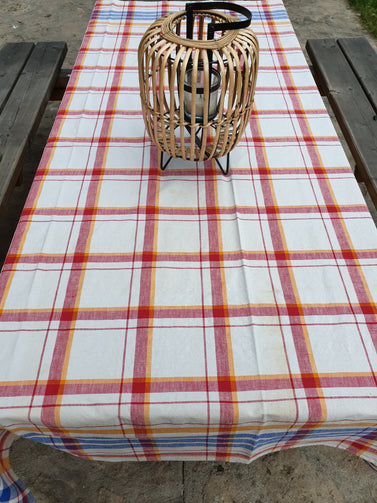 Nappe madras rectangulaire