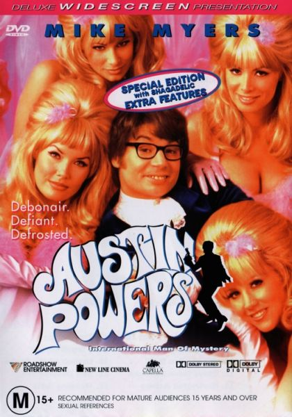 DVD - Austin Powers : International Man of Mystery [1997] (Preowned)