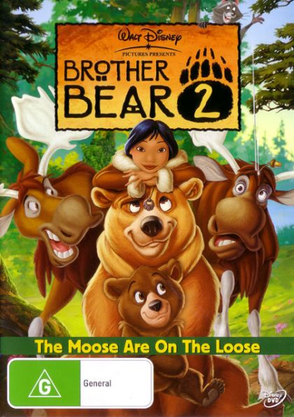 DVD - Brother Bear 2 [2006] (Preowned)