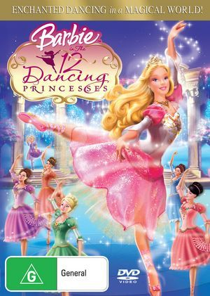 DVD - Barbie : 12 Dancing Princesses [2006] (Preowned)