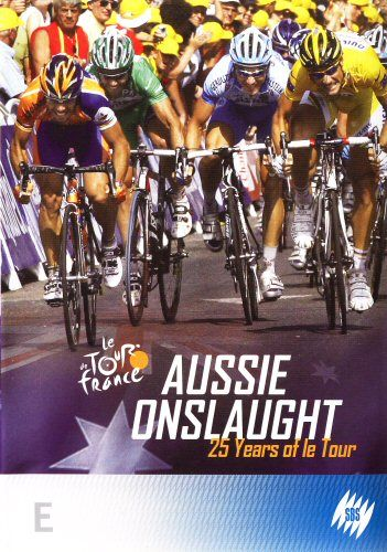 DVD - Aussie Onslaught: 25 Years Of Le Tour (Brand New Sealed)