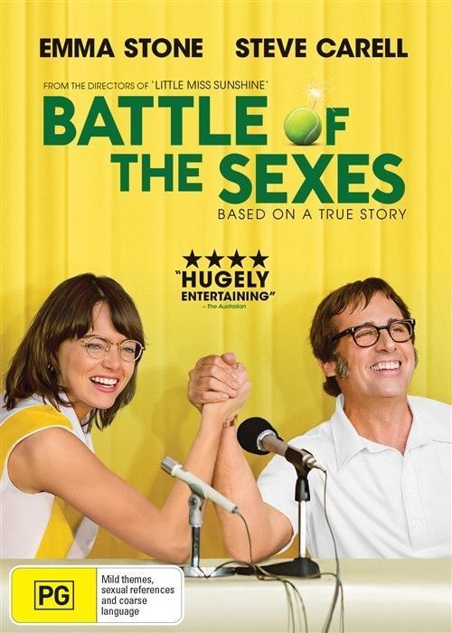 DVD - Battle of the Sexes, The [2017] (Ex-Rental)