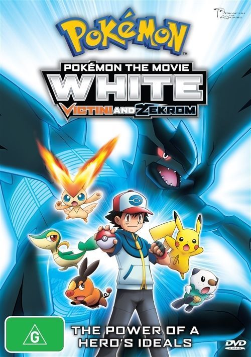 DVD - Pokemon The Movie: White : Victini and Z (Brand New Sealed)