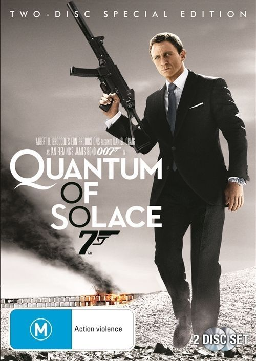 DVD - Quantum Of Solace: Two Disc Special Edition [2008] (Used)