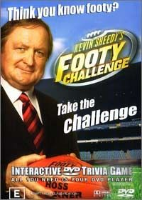 DVD Trivia Game - Kevin Sheedy's Footy Challenge (NEW)
