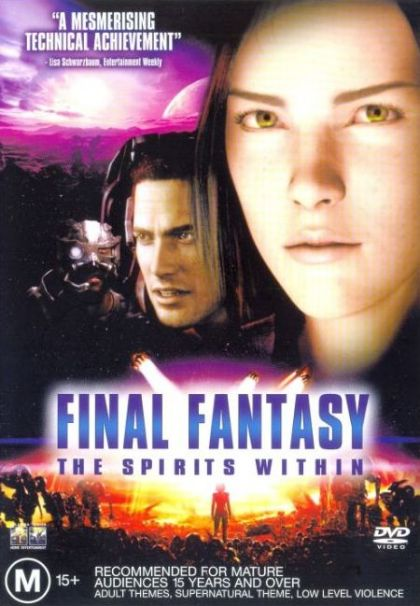 DVD - Final Fantasy : The Spirits Within [2001] (Preowned)