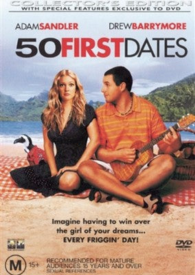 DVD - 50 First Dates [2004] (Ex-Rental)