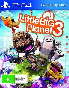 PS4 - Little Big Planet 3 (Preowned)