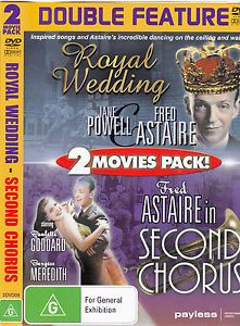 DVD - Royal Wedding / Second Chorus (U) (Preowned)