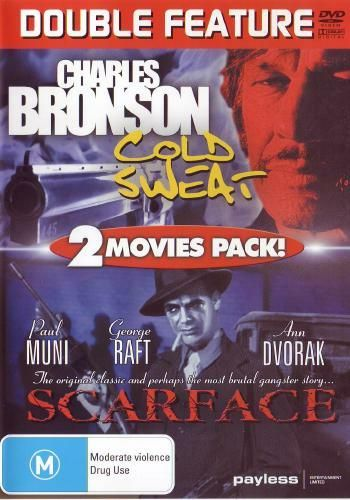 DVD - Cold Sweat / Scarface [1999] (Preowned)