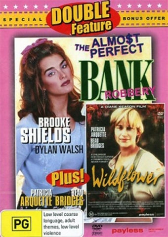 DVD - Almost Perfect Bank Robbery / Wildflower [1997] (Preowned)
