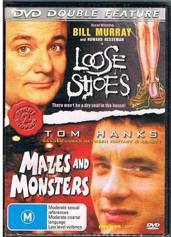 DVD - Loose Shoes / Mazes And Monsters (Preowned)