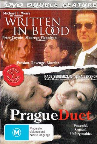 DVD - Written In Blood / Prague Duet (Preowned)