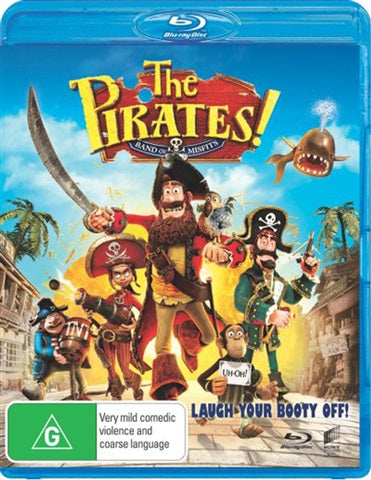 Blu-ray - Pirates! Band Of Misfits [2012] (Preowned)