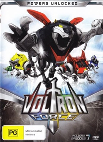 DVD - Voltron Force : Powers Unlocked (Brand New Sealed)