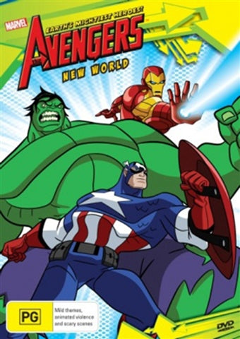 DVD - Avengers : New World (Brand New Sealed)