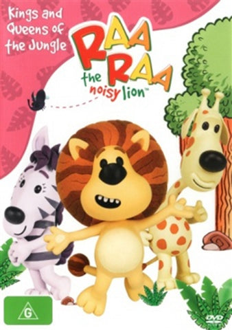 DVD - Raa Raa The Noisy Lion : Kings And Queens Of The Jungle (New and Sealed)