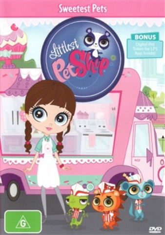 DVD - Littlest Pet Shop : Sweetest Pets (New and Sealed)