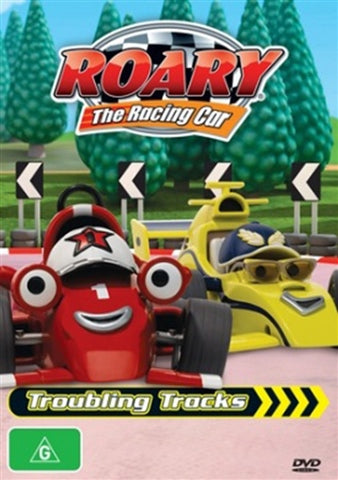 DVD - Roary The Racing Car : Troubling Tracks (New and Sealed)