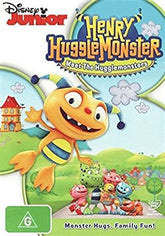 DVD - Henry Hugglemonster : Meet The Hugglemonsters (Brand New)