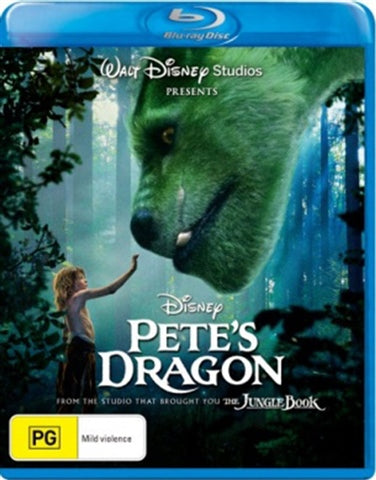 Blu-ray - Pete's Dragon [2016] (Preowned)
