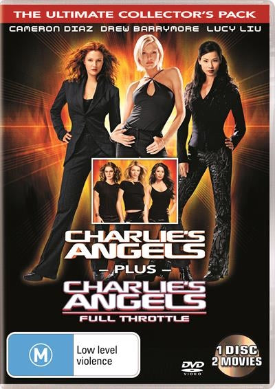 DVD - Charlie's Angels / Charlie's Angels Full Throttle [2003] (Preowned)