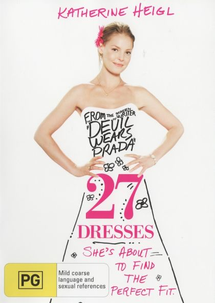 DVD - 27 Dresses [2008]  (Preowned)