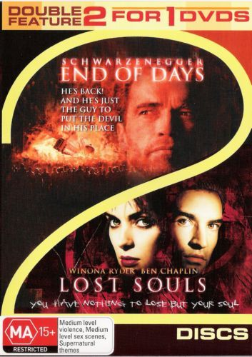 DVD - End of Days / Lost Souls [1996] (Preowned)