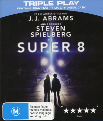 Blu-ray + DVD - Super 8 [2011] (Preowned)