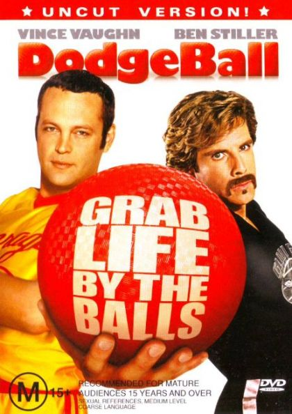 DVD - Dodgeball [2004] (Ex-Rental)