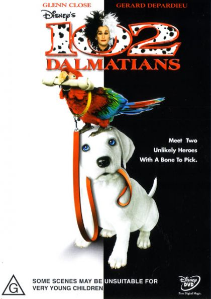DVD - 102 Dalmations [2000] (Preowned)