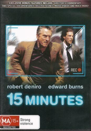 DVD - 15 Minutes [2001] (Preowned)