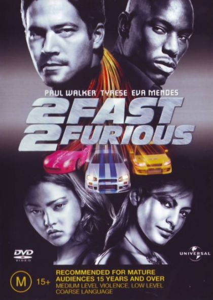DVD - 2 Fast 2 Furious [2003] (Preowned)