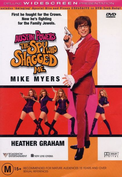 DVD - Austin Powers : The Spy Who Shagged Me [1999] (Preowned)