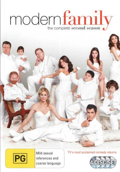 DVD - Modern Family : Season 2 [2010] (Brand New)